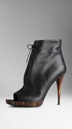 Burberry booties on ShopStyle