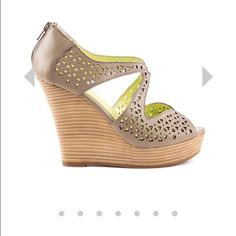 Seychelles wedges. Seychelles wedges. Super duper cute. Worn once. Only had a 6 and I had a party and a dress that needed these shoes that were really 1/2 size too small for me. Love them. Seychelles Shoes Wedges