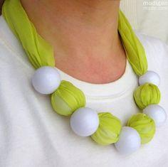 TUTORIAL - Fabric jewelry