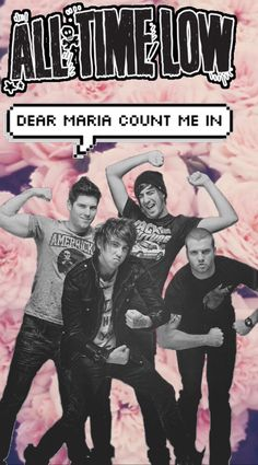 Dear MARIA COUNT ME IN