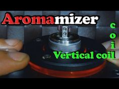 Aromamizer Vertical coil ( How to )- BasilisL (Greek ecig Reviews)