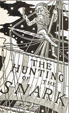 """henry holiday - ilustrador de  """"la caza del snark"""" de lewis carroll"""