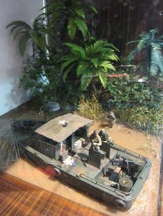 Vietnam Diorama.  Amazing vegetation, I'd like to know how they did that.