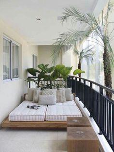 100 beautiful DIY pots and container garden ideas - Balkon Deko Ideen - Balcony Furniture Design Apartment Balcony Decorating, Apartment Balconies, Cozy Apartment, Apartment Plants, Apartment Design, Apartment Ideas, Small Balcony Decor, Small Patio, Balcony Ideas