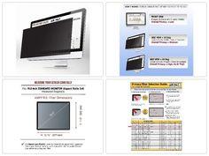 Privacy #Screen #Filter for Standard (SQUARE) Monitor (5:4 Aspect Ratio) 19.0 Inch