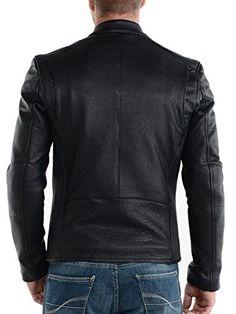 Laverapelle Men's Lamb skin Real Leather Jacket Black – 1510008