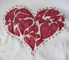 from these hands - Journal - Appliqued HeartT-Shirt