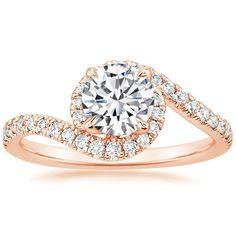 14K Rose Gold Venus Diamond Ring (1/3 ct. tw.) from Brilliant Earth