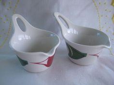 2 A La Carte Figgjo Flameware Norway 12018 Melting Pot Spout d x h Melting Pot, Sugar Bowl, Bowl Set, Norway