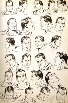 Curt Swan's Many Faces of Superman