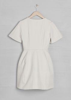 Abigail Lorick Dress | Warm Ivory | & Other Stories