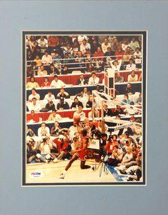Michael Jordan Autographed 8x10 Photo Chicago Bulls Vintage Rookie Era Signature PSA/DNA!!