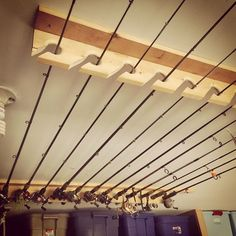 Fishing Rod Storage: