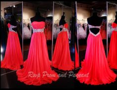 This strapless chiffon dress features beading along the waistline with an open back and it's at Rsvp Prom and Pageant, your source for the HOTTEST Prom and Pageant Dresses! Homecoming Dresses Long, Grad Dresses, Dressy Dresses, Event Dresses, Pageant Dresses, Lovely Dresses, Dream Dress, Ball Gowns, Dress Up