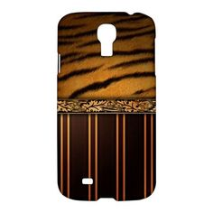 Skin Tiger Wood Samsung Galaxy S4 S IV Hardshell Case Cover
