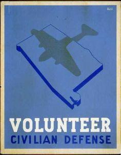 Volunteer civilian defense / Welch. (1941)