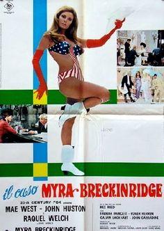 #MyraBreckinridge #1971 #Italian #Vintage #Movie #Poster via @FilmArtGallery #RaquelWelch #MaeWest #JohnHuston #FarrahFawcett #TomSelleck #GoreVidal #1960s #1970s #20thCenturyFox #FilmArtGallery