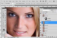 Photoshop Skin Retouching tutorial