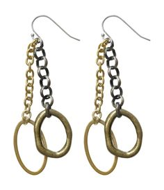 Checkout this amazing deal Chain Drop Earrings,$24