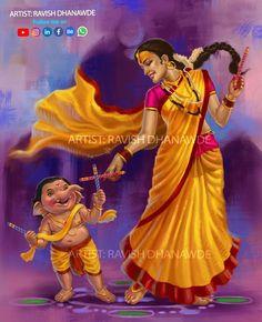 Shiva Parvati Images, Durga Images, Ganesh Images, Ganesha Pictures, Shiva Shakti, Jai Ganesh, Ganesha Art, Shiva Art, Lord Ganesha Paintings