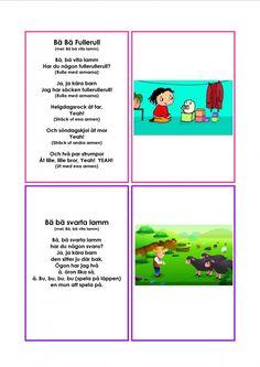 Mariaslekrum Learn Swedish, Swedish Language, Singing, Education, Learning, Matte, Kids, Preschool Ideas, Play