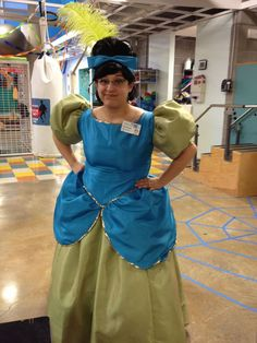 I Was Drizella The Evil Stepsister From Cinderella For Halloween A Lovely Seamstress From My City Made The Costume For Me