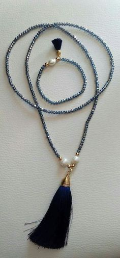 LOVE PEARLS!! - LOVE TASSELS!! - LOVE, LOVE BAROQUE PEARLS!! - PUT TOGETHER.......AWESOMENESS!!