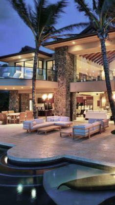 Gorgeous beach house.