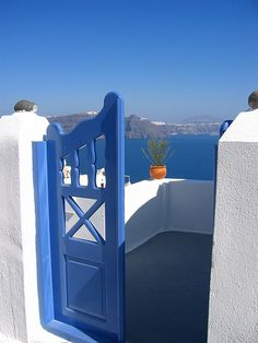 GREECE CHANNEL | blue and white, and water