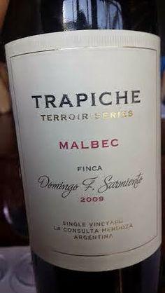 Miguel Chan: Trapiche Terroir Series Finca Domingo F. Sarmiento...