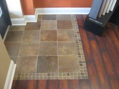 Good flow from tile to other wood/laminate.