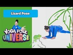 Lizard Pose Yoga, Childrens Yoga, Yoga Poses, Fictional Characters, Fantasy Characters