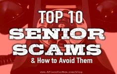Scammers are evil but not stupid. They prey on targets of opportunity. Seniors are often vulnerable to cons because of cognitive problems that can impair judgment. Isolation and sometimes loneliness can also make seniors dangerously trusting.