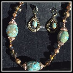 Premier Designs Jewelry, Jewelry Design, Aztec Necklaces, Fashion Tips, Fashion Design, Fashion Trends, Turquoise Necklace, Shop My, Bronze