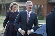 Queen Mathilde and King Philippe visit Province of Antwerp