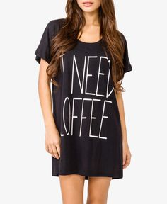 Morning Coffee Nightdress | Forever 21