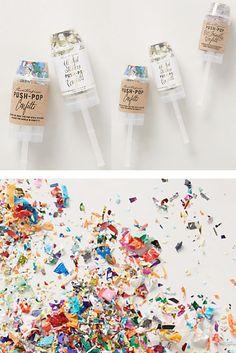 Confetti Push-Pop #anthroregistry