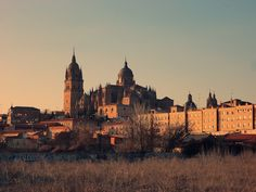 Atardecer-Salamanca, Spain. The Old City was declared a UNESCO World Heritage Site in 1988.