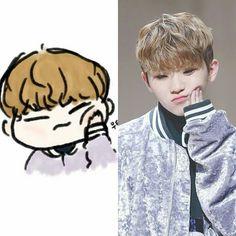 Woozi is very cute and beautiful ❤ Seventeen Memes, Seventeen Woozi, Seventeen Debut, Jeonghan, Wonwoo, K Pop, Hip Hop, Carat Seventeen, Seventeen Wallpapers