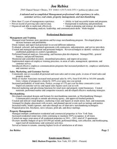 retail manager resume example httpwwwresumecareerinforetail