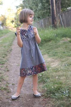 mini poppy dress // probably actually