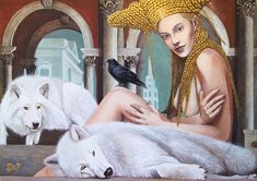 Daniel Porada at Gallery BeArte. Great art created with lots of detail and carefulness. Princess Zelda, Disney Princess, Old Master, Figure Painting, Disney Characters, Fictional Characters, Old Things, Aurora Sleeping Beauty, Gallery