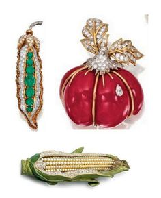 Beautiful Fruits & Veggies Jewelry Edition | Fashion