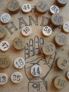 oh, numbers and hands ~ i love both