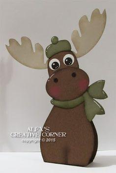 Alex's Creative Corner: Winter Moose Favour