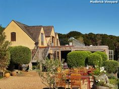 Mudbrick Vineyard and Restaurant on Waiheke Island.  Awesome venue, award winning wine and food.  Spectacular scenery.  And you can stay here too.