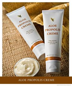 Because your skin deserves the very best, reach for Aloe Propolis Creme. Unique to Forever, this soothing moisturizer combines Forever's world-class Aloe Vera and beehive products into a rich blend of stabilized Aloe Vera Gel, Bee Propolis, Chamomile and Vitamins A & E for the best all-natural, skin-conditioning moisturizer.