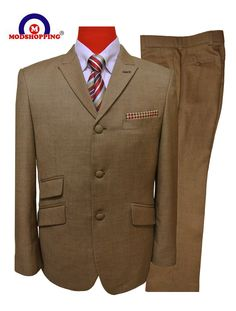 Modshopping - MOD SUIT,LIGHT BROWN SUIT,MODSHOPPING, £219.00 (http://www.modshopping.com/mod-suit-light-brown-suit-modshopping/)
