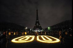 Earth Hour 2012 from Paris