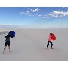 Hold on, it's spring in New Mexico and that means windy days ahead! White Sands National Monument Sidetracked App|NM